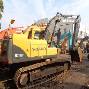 Durable Second-hand Machine Original VOLVO Used Hydraulic Excavator EC210BLC from Korea for sale in China