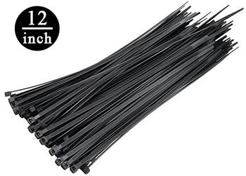 78ba24dcb1b5 Ksf Cable Ties ~ 12 Inch / 300mm ~ Black Color ~ 100 Pcs / Pack - Buy ...
