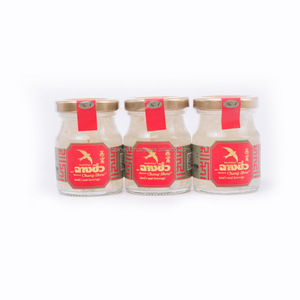 Bird's nest beverage anti-aging drink 100% natural 75 ml. GMP FDA HALAL HACCP Certification
