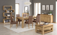 oak dining room set/high quality furniture/natural dining table and chair