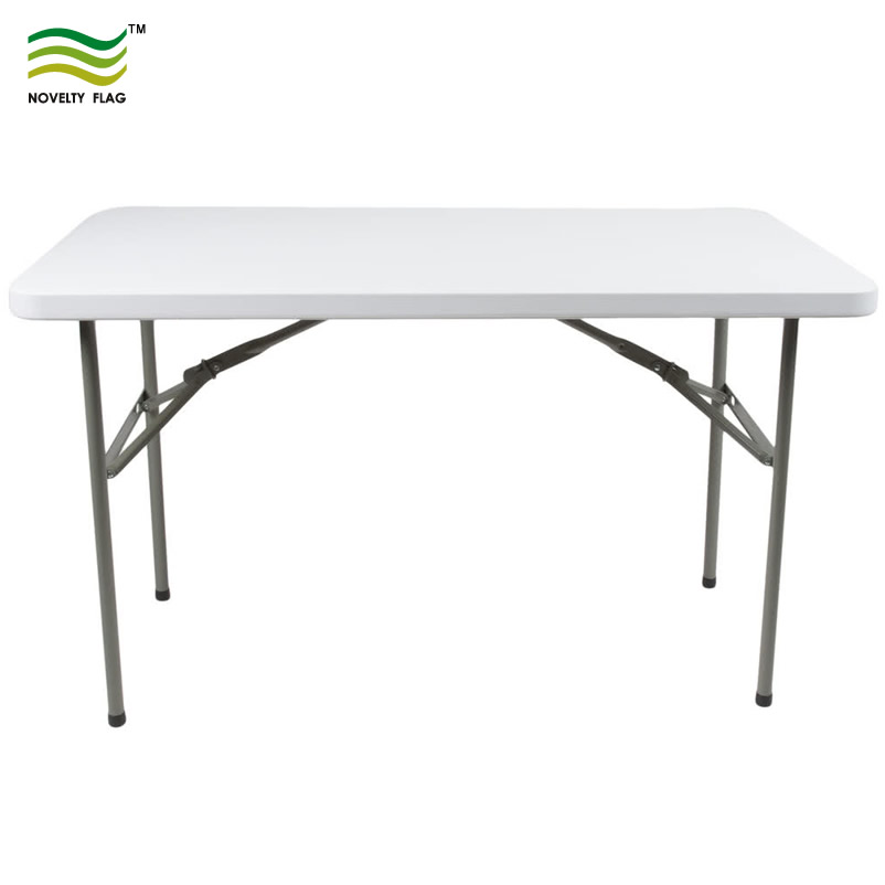 Pli Demi Plastique 4ft En Table D'exposition UVSpzM