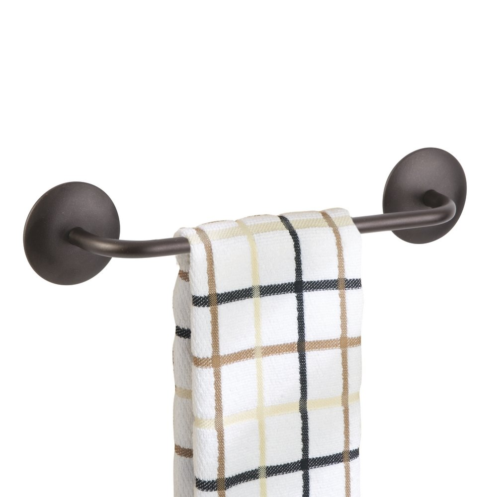 Get Quotations Mdesign Kitchen Self Adhesive Towel Bar Holder For Hand Towels Dish Pack