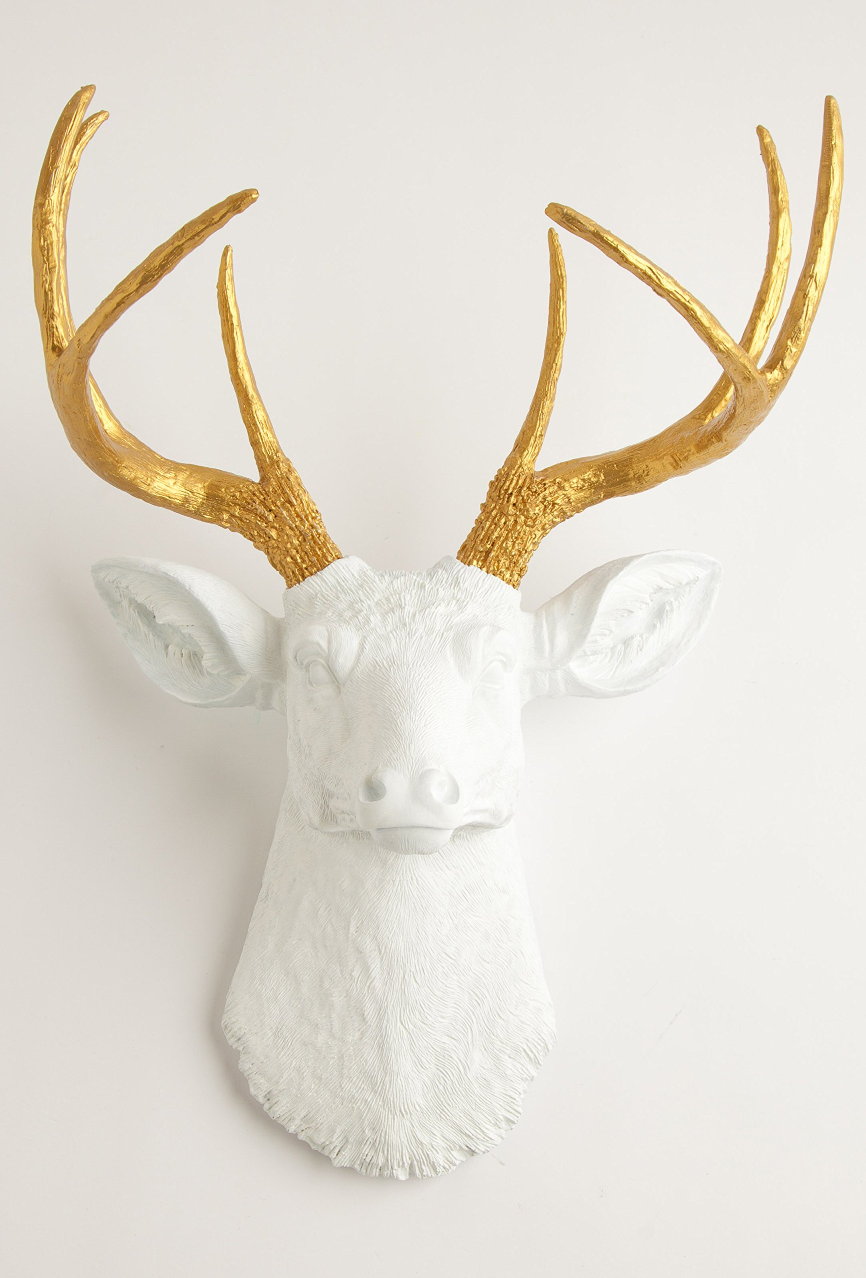 stag original head decoration deer q christmas art wall wooden personalised rudolph decor
