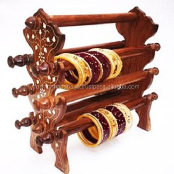 Designer Wooden Handicrafts And Bangles Holders Buy Designer