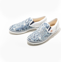 Men Canvas Shoes Japan Made Luxury Slip On Shoes
