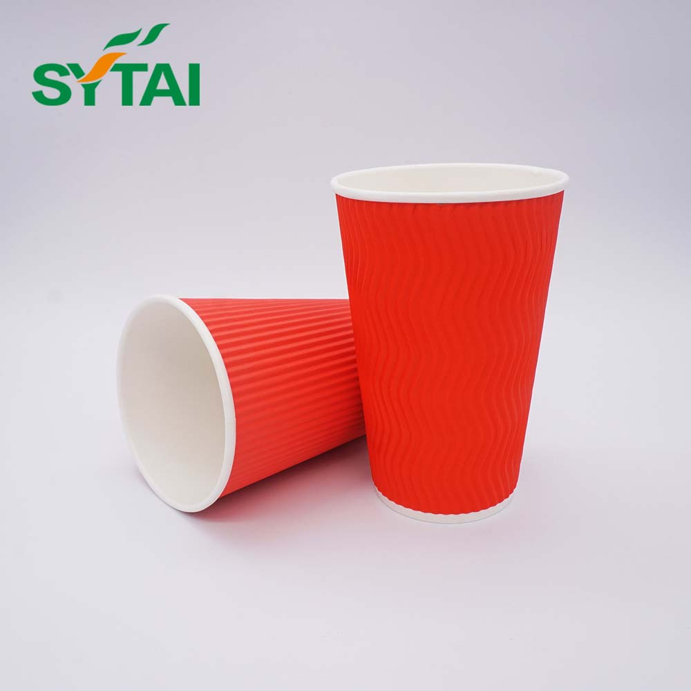 Ripple Wrap Hot Coffee Paper Cups Manufacturer - Buy Hot Paper Cups,Ripple  Wrap Coffee Cups,Ripple Cup Manufacturer Product on Alibaba com