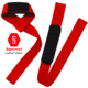Strong Made Neoprene Padded Custom Color Logo Weight Lifting Wrist Straps