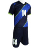 Wholesale youth and kids cheap sublimation custom soccer jersey / new team set soccer uniforms 2017