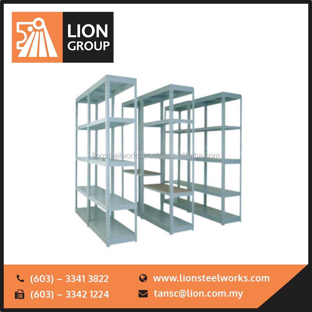 Lion Steel Best Quality Boltless Racking office File Rack Malaysia