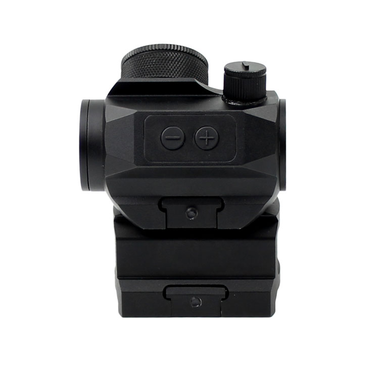 Shock resistant tactical firearms rifle scope hunting sight with riser mount red dot sight