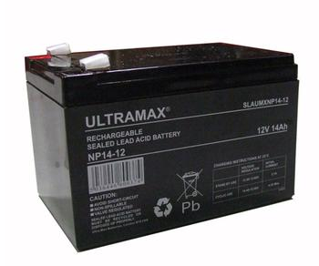 3 X ULTRA MAX 12V 14AH HEAVY DUTY BATTERY FOR ELECTRIC BIKE, ELECTRIC SCOOTER & TOY CAR