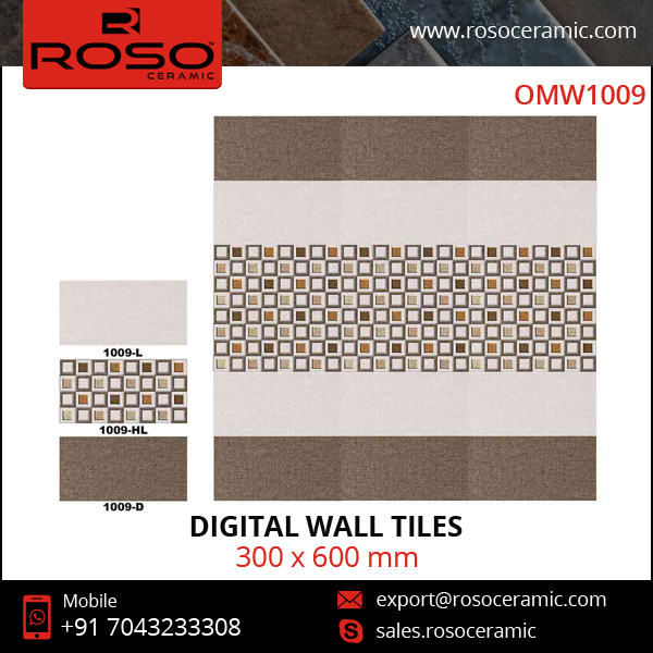 OMW1009 Ceramic Bathroom and Kitchen Wall Digital Tile
