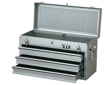 Japan made high-quality steel toolbox case for pro users