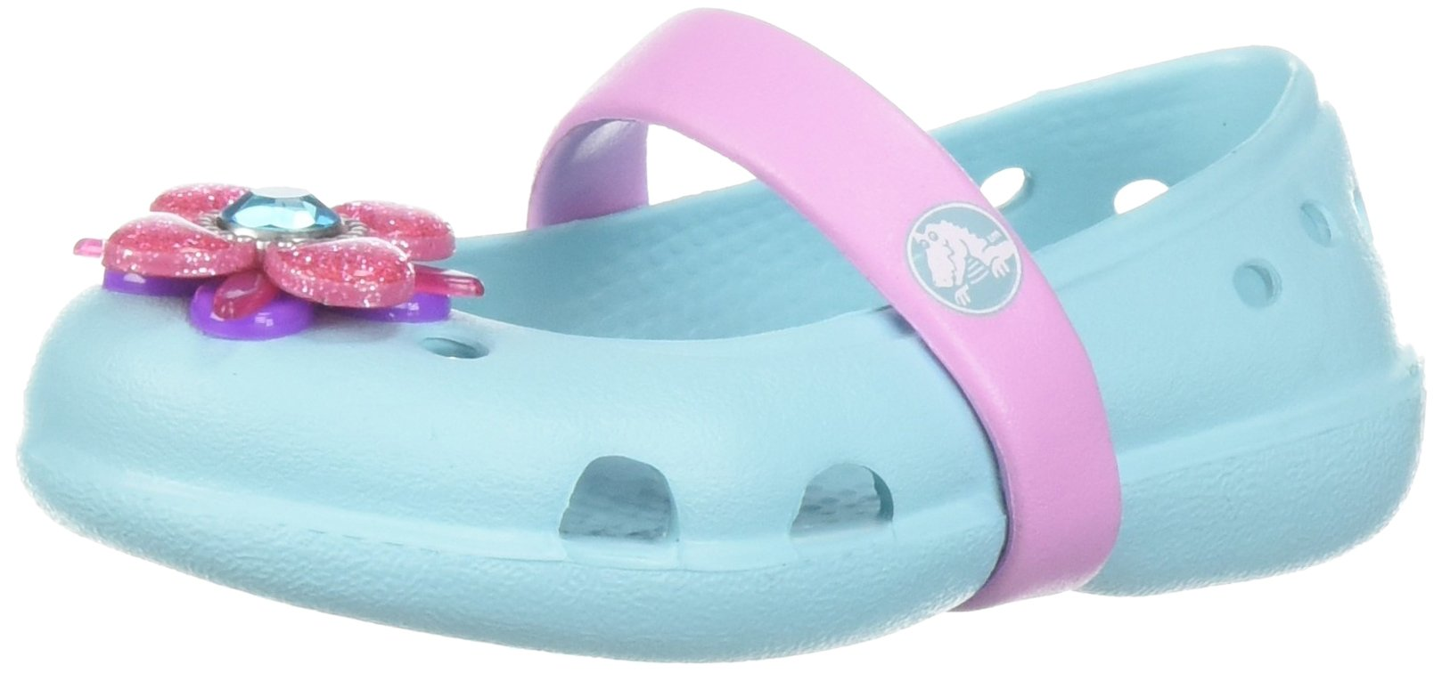 8dd568c3cc2030 Get Quotations · Crocs Kids  Keeley Springtime PS Mary Jane Flat