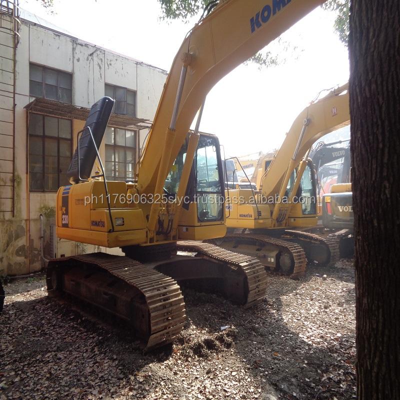 New arrival Japan Komatsu PC200 used excavator for sale, used komatsu excavator PC200-6 PC200-7 PC210-7 PC220-6 PC200-8