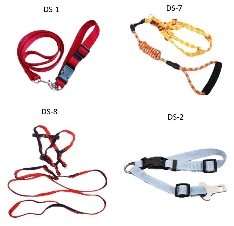 pet safety belts rubber tie down leash dog collar