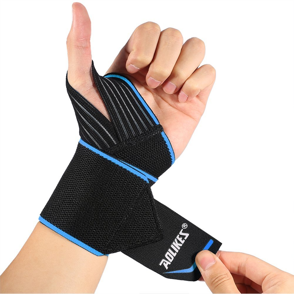 Eliminate Wrist Pain and Lift Heavier! Anvil Fitness Weightlifting Wrist Wraps Pair of Adjustable Elastic Wrist Straps Perfect for Bench Press Push Ups and All Pressing Movements