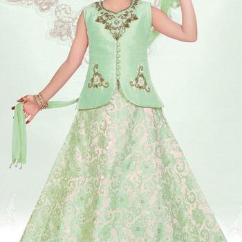 2dae3ccad1 Kids Latest Party Wear Lehenga Chaniya Choli Indian Designs - Buy ...