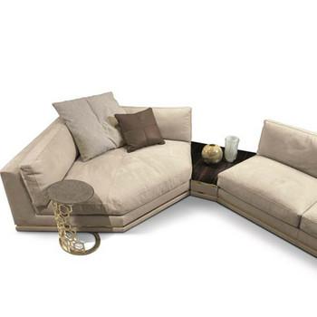 Modern Italian White Leather Corner Sofa - Buy Corner Sofa,Leather ...