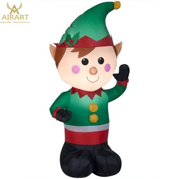custom inflatable Christmas Elf on a shelf,Xmas decoration