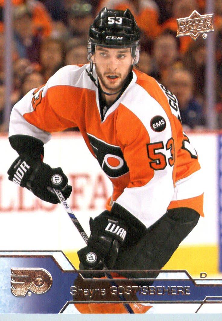 2016-17 Upper Deck Series 1 #140 Shayne Gostisbehere Philadelphia Flyers Hockey Card