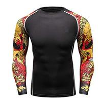 2019 New design workout blank athletic running custom fitness men gym wholesale dri fit shirts Short Sleeve Compression T Shirt