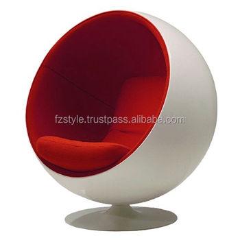 Fiber Glass Ball Chair