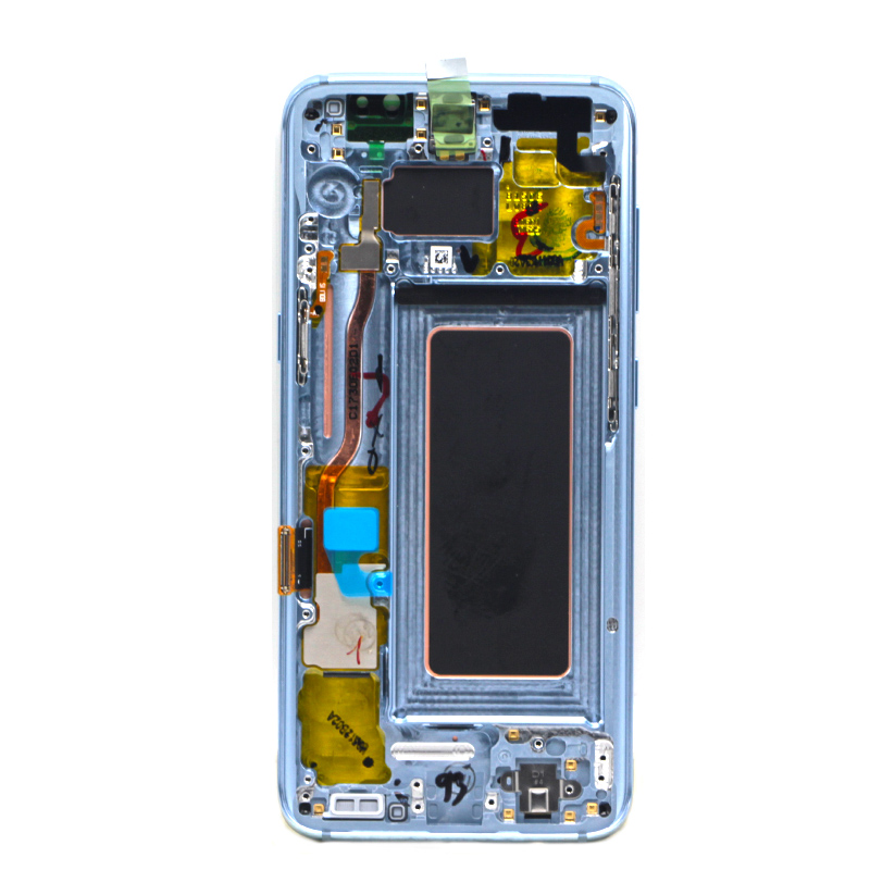 Amoled Original for Samsung mobile Phone touch screen for Samsung Galaxy S8 Plus LCD, For Samsung S8+ G955F G955 LCD with frame