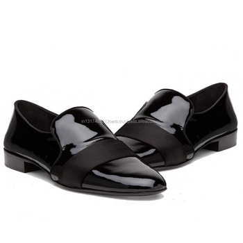Patent Leather Evening Loafers For Men - Buy Patent Leather Evening ...