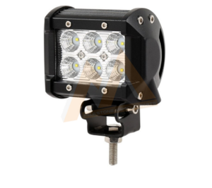 New Products Good Feedback car accessories 18w led work light 4 inch car work light off road atv 4x4