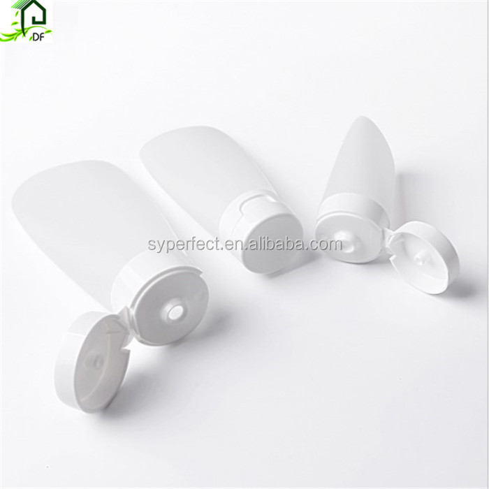 30ml 60ml 100ml Tube Flip Squeeze Bottle Shampoo Shower Lotion Cosmetic Soft PE Tube