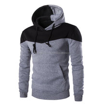 Neueste design Herren Zwei Ton Winter Slim fit Hoodie Warme Hoodie