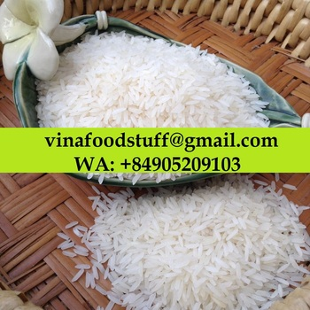 Milagrosa Enriched Long Grain Jasmine Fragrant Rice Scented 5% Broken Hom Mali Super AAA -WA: +84905209103