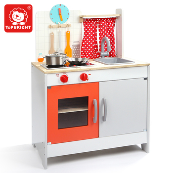 Fruit Shape Wooden Kitchen Playset/mini Kids Kitchen Set Toy/cheap Colorful  Wooden Kitchen