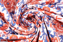 Hand Dyed Dress Material Sanganeri fabric Design Hand Block Print Cotton Fabric 30 Yard