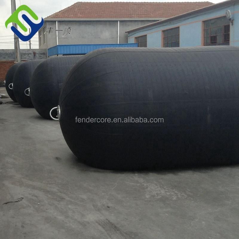 Florescence pneumatic marine rubber fender