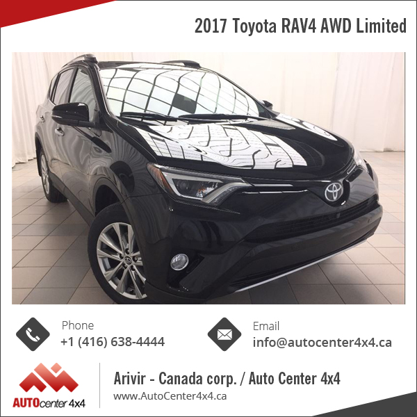 2017 Toyota RAV4 AWD Limited Edition