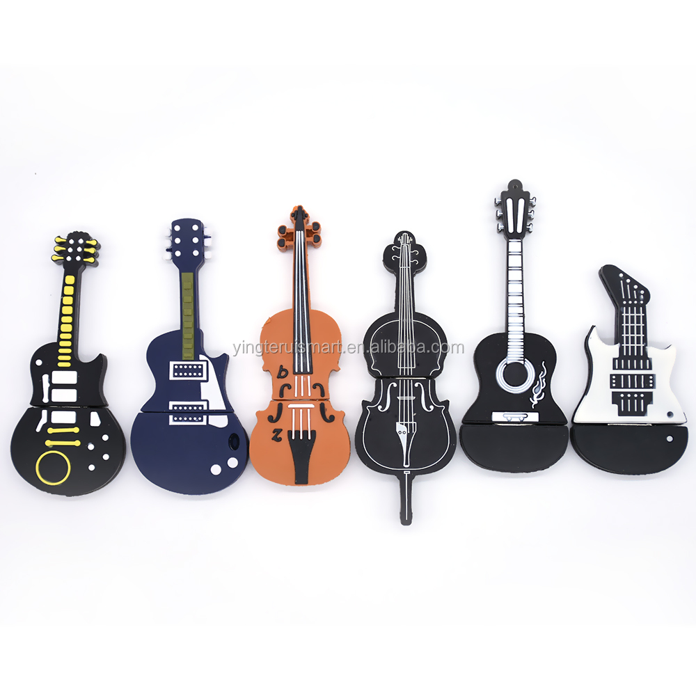 뮤지컬 Instruments Model 펜 drive USB flash drive 마이크/피아노/guitar Pendrive 4 그램 8 그램 16 그램 32 그램 64 그램 flash memory stick u disk