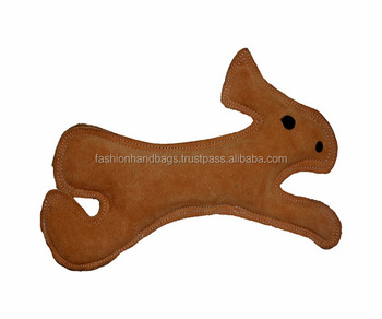 Pet Playing Chew Pure Leather India Made Toys