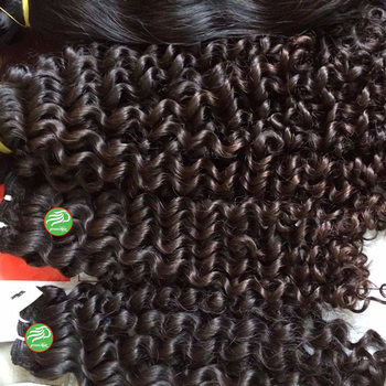 best seller burmese big curly hair weaves with highest quality human hair and cheap wholesale price from greenhair