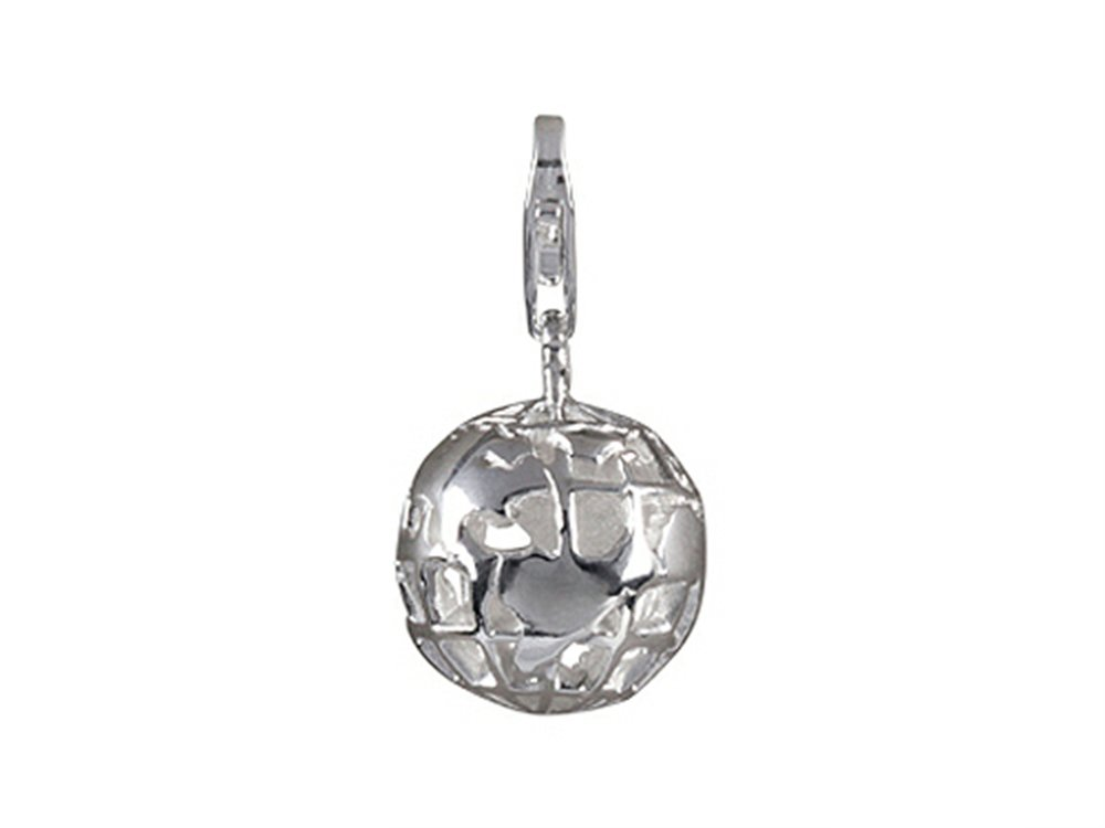 SilveRado Verado Sterling Silver Here on Earth Bead/Charm with Lobster Clasp