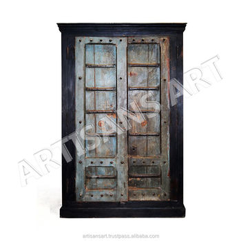 Vintage Indian Old Doors Antique Wooden Almirah Antique Reproduction Furniture  sc 1 st  Alibaba & Vintage Indian Old Doors Antique Wooden AlmirahAntique Reproduction ...