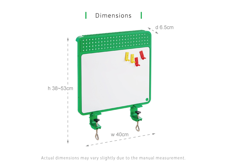 Kid2Youth TCT Exclusieve Brick Magnetische Whiteboard