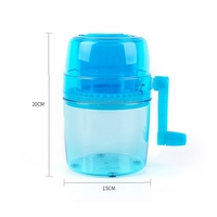 Hand Shake Juicer / Icebreaker / Ice Cream Machine for Household Use (Blue)