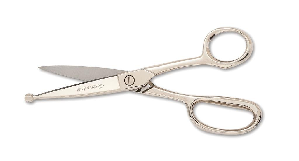 """Wiss 41DBN 8"""" Poultry Processing Shears, Inlaid"""