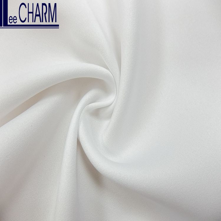 WP1380 Wholesale Taiwan Semi-Dull Polyester Cheap Bridal Satin Lining Fabric