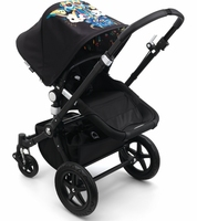 Christmas swift delivery for _NEWLY DESIGNED_ Bugaboo Cameleon 3 Stroller - All Black/Niark1