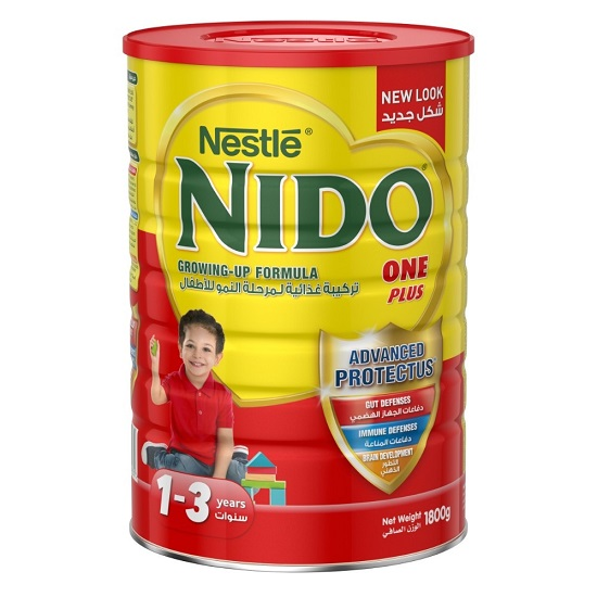 Nestle Nido Fortified Full Cream Milk Powder 900g,Red Cap/lid / Nido Plus 1  (+1) - Buy Nestle,Nestle Chocolate,Nestle Nido Milk Powder Product on