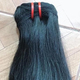 Hair Extension - Silky Weft straight # Black natural - Factory price - Best quality