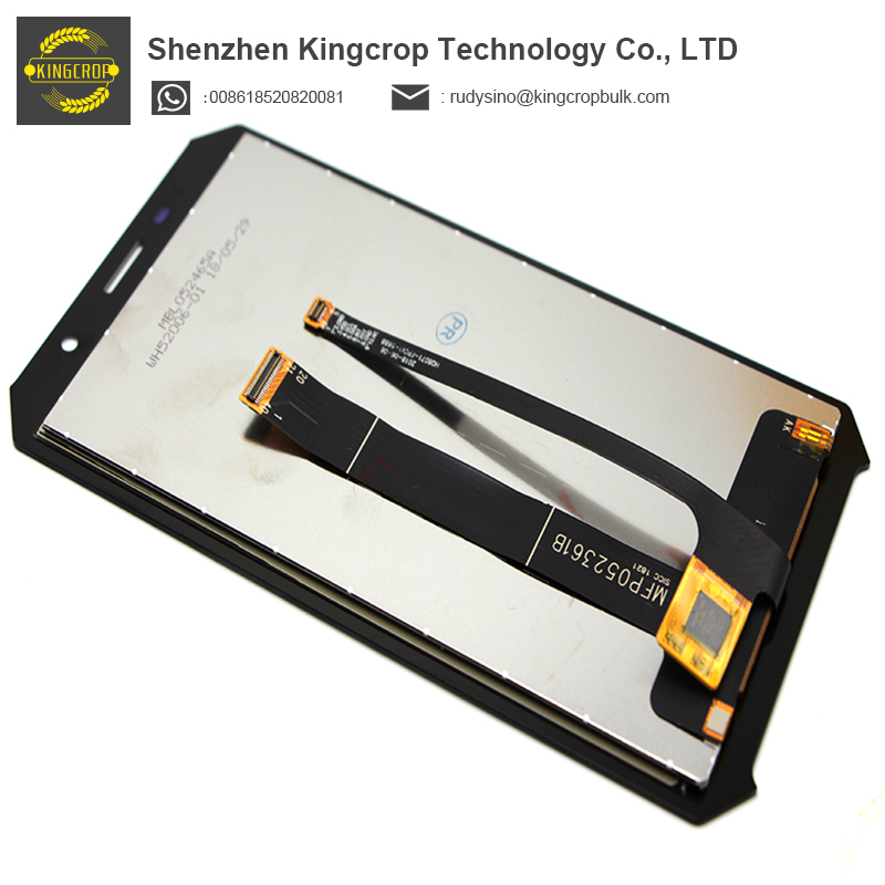 100% Tested Screen Digitizer Assembly Replacement Original For Doogee S60 LCD Display Touch Screen